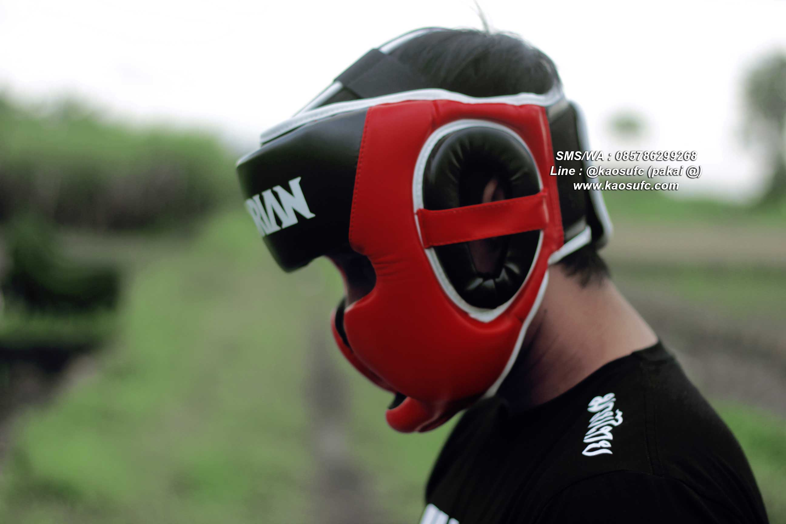jual head guard mma