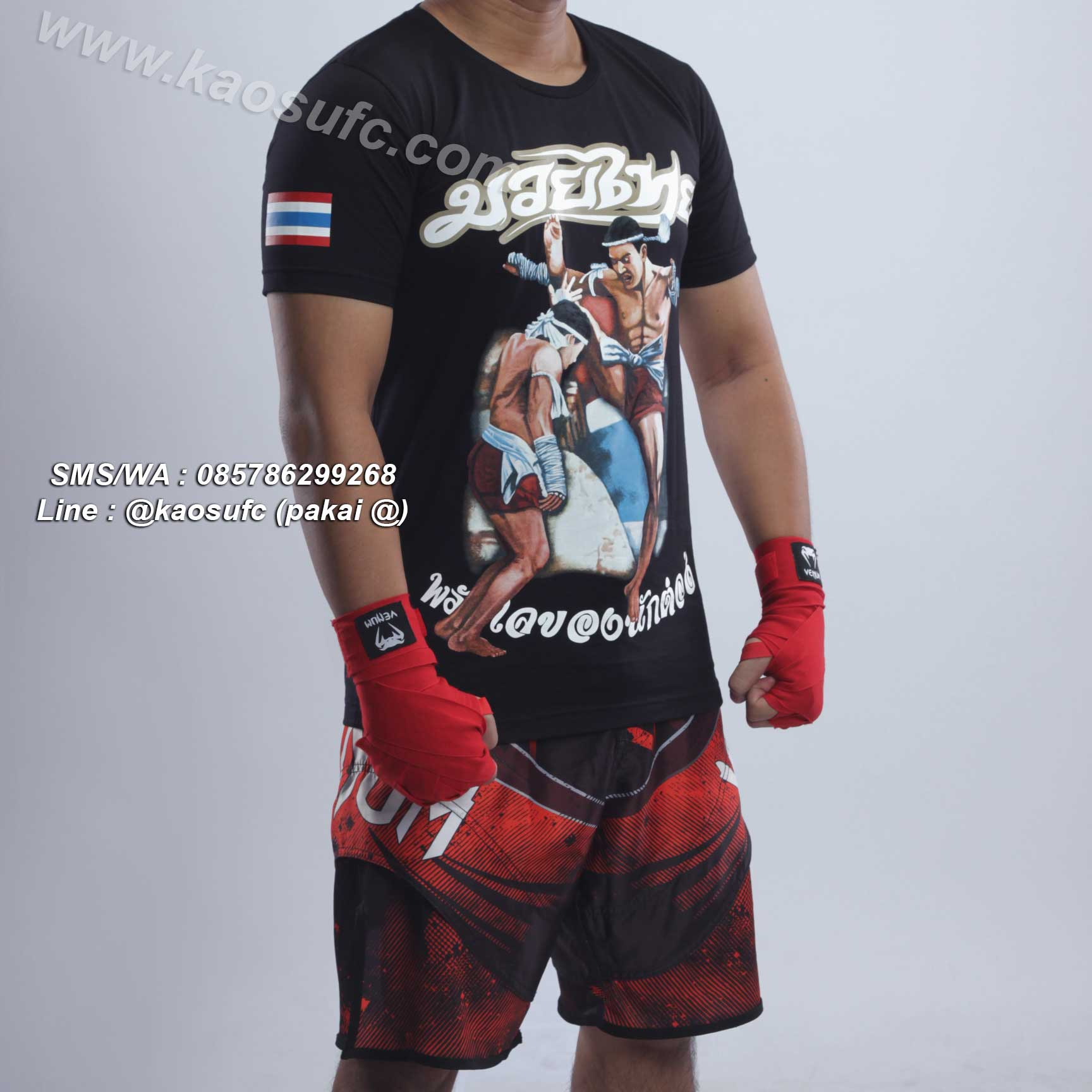 baju Muay Thai Hanzo Elite Fight Gear