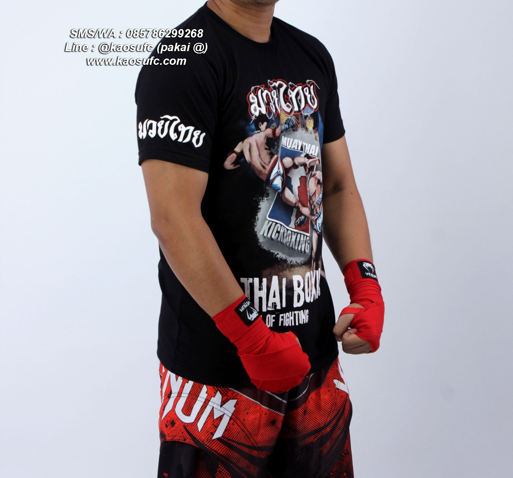 t-shirt-Muay-Thai-Hanzo-Elite-Fight-Gear